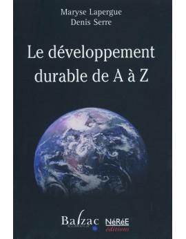 Le développement durable de A à Z